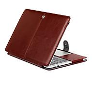 для MacBook Pro, 15,4 13,3 13,3 новый pro15.4 дюймовый планшет роскошь ультра тонкий магнитный фолиант стоять сумасшедший кожаный чехол