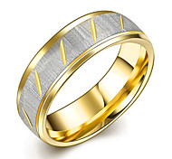 Ring Steel Fashion Silver Jewelry Daily 1pc