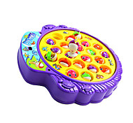 Fishing Toys Toys Novelty Toys ABS Purple