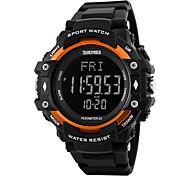Men's Women's Sport Watch Wrist watch Digital WatchLCD Calendar Water Resistant / Water Proof Alarm Heart Rate Monitor Pedometer