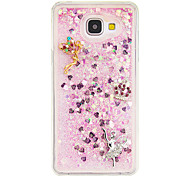 For Samsung Galaxy A510 DIY Rhinestone Case Back Cover Case For Sexy Lady TPU for A310