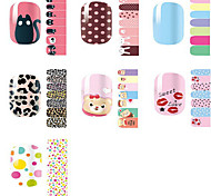 Environmental Protection Nail Stickers