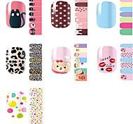 Environmental Protection Nail Stickers