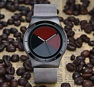 Relógio de Moda Quartzo Couro Banda Branco