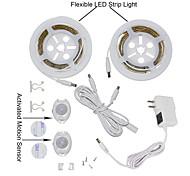 ywxlight® 2835smd 3w 36LED теплый белый холодный белый нас подключить активированный кровати свет 2x1.2m датчик таймера гибкой полосы