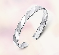 Bangles Sterling Silver Natural Fashion Jewelry Silver Jewelry 1pc