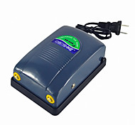 Aquarium Air Pump Energy Saving Noiseless 5W 2*4L/min 220V