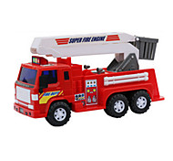 Construction Vehicle Pull Back Vehicles Toys Car Toys 1:12 Plastic Red Model & Building Toy