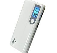 13000mAhbanque de puissance de batterie externe Sorties Multiples avec câble Lampe Torche Courant Ajusté Automatiquement 13000 1000/2100