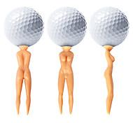 Tee de Golf Accesorios de golf Impermeable Duradero Reutilizable Portable Para Golf - 50