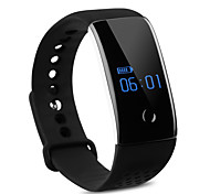 S1 Bluetooth Smart Bracelet Watch Wristband with Heart Rate and Blood Oxygen Monitor Sport Fitness Tracker Sleep Monitor for Android iOS