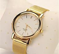 Unissex Relógio de Moda Relogio digital Quartzo Digital Lega Banda Casual Dourada