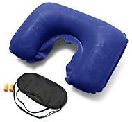 Travel Travel Eye Mask / Sleep Mask Travel Pillow Travel Ear Plugs Travel Rest U Shape Foldable Inflatable Multi-functionNon-woven