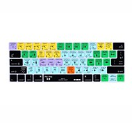 XSKN® Avid Pro Tools Shortcut Silicone Keyboard Skin for 2016 New MacBook Pro 13.3/15.4 with Touch Bar Retina (US/EU Layout)