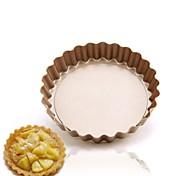 DIY Mini pie cake pan 4 inch removable bottom design Non stick pan for cake FDA