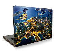 Pour macbook air 11 13 / pro13 15 / pro avec retina13 15 / macbook12 the earth at night décrit le cas d'ordinateur portable Apple