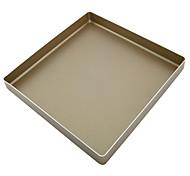 11inch square non stick cookie baking pan food grade aluminum cake mould heavy tray FDA