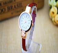 Men's Fashion Watch Quartz Alloy Band Casual Yellow Strap Watch
