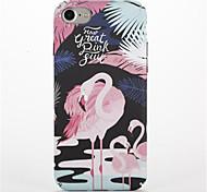 Для С узором Кейс для Задняя крышка Кейс для Фламинго Твердый PC для AppleiPhone 7 Plus iPhone 7 iPhone 6s Plus iPhone 6 Plus iPhone 6s