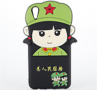 For OPPO Find 9 R9 Shockproof Case Back Cover Case Female Lei Feng Pattern Soft Silicone for OPPO R9 Plus OPPO R7s
