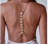 Женский Украшения для тела Цепь Тела / Belly Chain Мода бижутерия Сплав Бижутерия Назначение Спорт