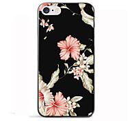 Назначение iPhone 8 iPhone 8 Plus Чехлы панели С узором Задняя крышка Кейс для Цветы Мягкий Термопластик для Apple iPhone 8 Plus iPhone 8