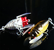 5 pcs Fishing Lures Minnow g/Ounce mm inch,Plastic General Fishing