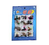1 pcs Flies Random Colors 1.5 g Ounce mm inch,Plastic General Fishing