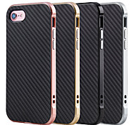 For Apple iPhone 7 Plus iPhone 6s 6 Plus Case Cover The TPU with Metal Frame