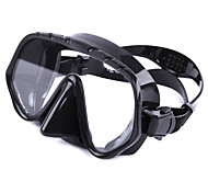 Diving Masks Diving / Snorkeling Glass silicone Black