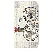 For Apple iPhone 7 7 Plus iphone 6s 6 Plus iphone SE 5s 5 The A Bike Pattern Flip PU Leather Case