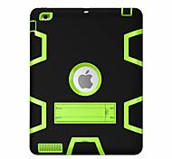 Для Защита от удара со стендом Поворот на 360° Кейс для Чехол Кейс для Геометрический рисунок Твердый PC для Apple iPad 4/3/2