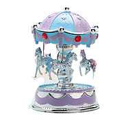 Music Box Music Classic & Timeless Plastic Navy Blue Pink