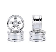 4Pcs Aluminum Alloy 52 * 26mm Tire Hub for 1/10 HSP Tamiya Kyosho On-road Run-flat RC Car