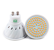 1Pcs YWXLight® GU10 72LED 7W 2835SMD 500-700Lm Warm White Cool White Natural White LED Spotlight (AC 110V/ AC 220V)