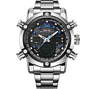 Men's Prestige Selling Casual Sports Models High-Grade Quartz Watch Dual Display Multi-Functional Male Models Watches