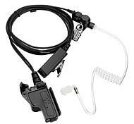 High Quality Transparent Air Tube Spring Headset Earpiece Radiation-proof MIC For Motorola HT1000 MT2000 MTS2000 XTS5000