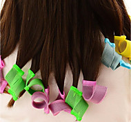 18Pcs  Set Nine Big Nine Little Fashion Snail Curl Diy Hair Soft Hair Curlers Tool Styling Rollers Spiral Circle Magic Rollers
