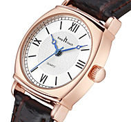 Women's Fashion Watch Quartz Leather Band Black White Black White
