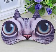 1PC Travel Travel Eye Mask / Sleep Mask Travel Rest Breathability Foldable Portable Static-free Sun Protection Polyester