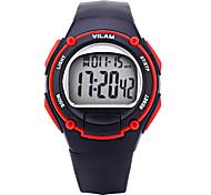 Vilam Men Women Fashion Sport Watch Digital Calendar Chronograph  Water Proof Luminous Plastic Boys Girls Watches