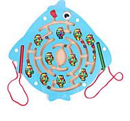 Brinquedos Jogos & Quebra-Cabeças Peixes Madeira
