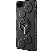 Para o iphone da maçã 7 7 mais 6s 6 mais o caso cobrem a caixa do telefone da armadura do anel da engrenagem