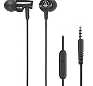 Audio-technica ATH-CLR100is BK Mobile Earphone for Computer In-Ear Wired Plastic 3.5mm With Microphone Noise-Cancelling