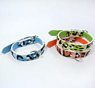 Fashion Cheetah stripes Cat dog collars pet supplies cat dog harness Pet Christmas Accessories Pet Supplies Wholesale sales