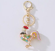 The New Car Bag Key Ring The Big Rooster Metal Idea Set Yhe Drill Key Ring