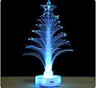 2шт 7-цветной светодиодный мини-волокна прозрачный светящийся Рождественская елка свет (случайный цвет)