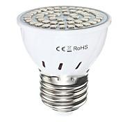 2W GU10 GU5.3(MR16) E27 LED лампа для теплиц MR16 54 SMD 2835 300 lm Красный Синий AC110 AC220 V 1 шт.
