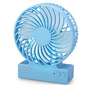 Creative Plastic Portable Usb Fan Mini Electric Fan Charging Silent Green Fan