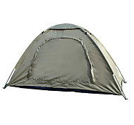 1 человек Световой тент Один экземляр Складной тент Однокомнатная Палатка 2000-3000 мм Стекловолокно ОксфордВодонепроницаемость